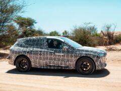 Компания BMW рассказала о секретном электрическом кроссовере