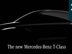 Mercedes-Benz T-Class: новый семейный компактвэн