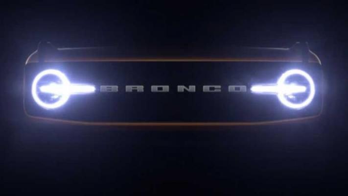 Ford Bronco, внедорожник