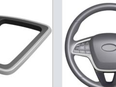 АвтоВАЗ запатентовал новое рулевое колесо и рамку селектора АКПП