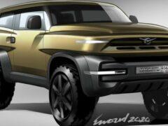 Голландский дизайнер показал свой вариант нового внедорожника УАЗ