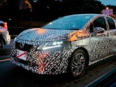 Nissan продолжает испытания нового компактного Note