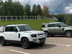 В Сети показали легендарный Land Rover Defender новой генерации