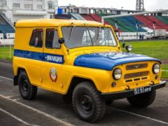 В Сети вспомнили о милицейском автомобиле УАЗ