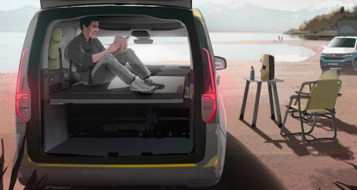 Volkswagen Caddy, новый миникемпер