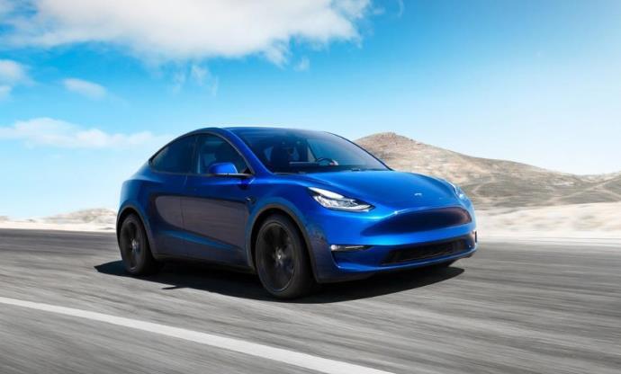 Long Range Rear Wheel Drive, электрокар, Tesla