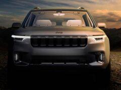 Jeep раскрыл новые изображения Grand Wagoneer