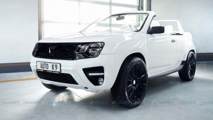 Duster-кабриолет, тюнинг 2,7 млн рублей