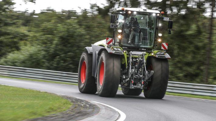 Claas Xerion 5000 VC, трактор