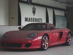 В КНР нашли эксклюзивный Porsche Carrera GT