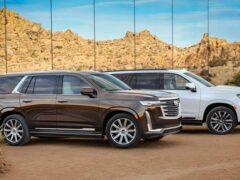 Cadillac Escalade 2021 года пользуется популярностью у покупателей