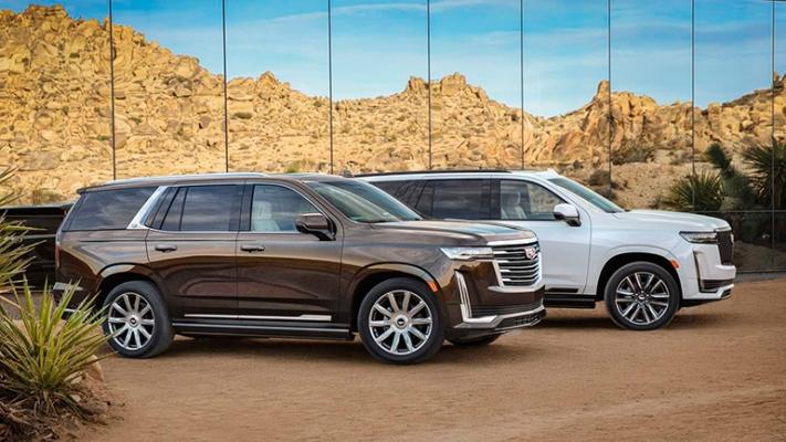 Cadillac Escalade, 2021 год