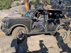 Новый внедорожник Bronco испытали на горных трассах Сьерра-Невада