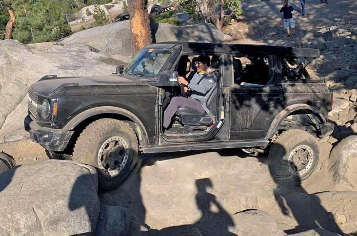 Ford Bronco, новый, тест, горы