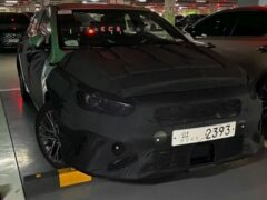 Новый Kia Cerato показали на новых шпионских фотографиях