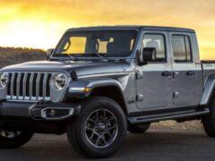 Jeep Gladiator скоро получит две особые версии исполнения
