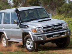 Toyota обновила свой легендарный внедорожник Land Cruiser 70