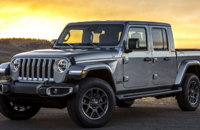 Jeep Gladiator 2021 модельного года