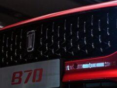 FAW Bestune B70 третьего поколения переехал на собственную архитектуру