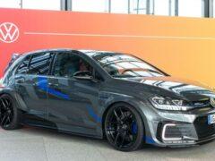 Volkswagen представил Golf GTE HyRacer