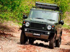 Тюнеры превратили Suzuki Jimny в миниатюрный Land Rover Defender