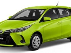 Обновленные седан и хетчбэк Toyota Yaris дебютировали в Таиланде