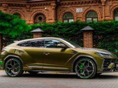 В России выставлен на продажу самый дорогой Lamborghini Urus