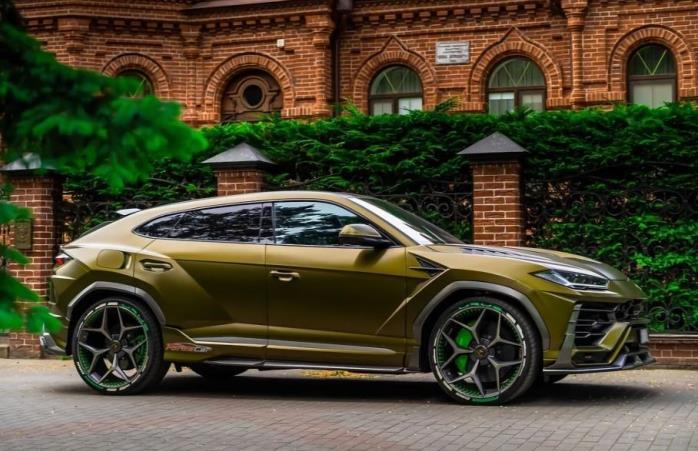 Lamborghini Urus, тюнингованный