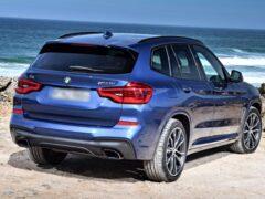 В Сети опубликовали изображения обновленного BMW X3