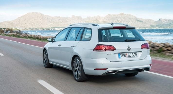 VW Golf Variant, нового поколения