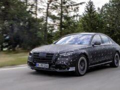 Mercedes-Benz представит S-Class с новой линейкой моторов