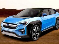 Рассекречен модельный ряд Subaru до 2024 года