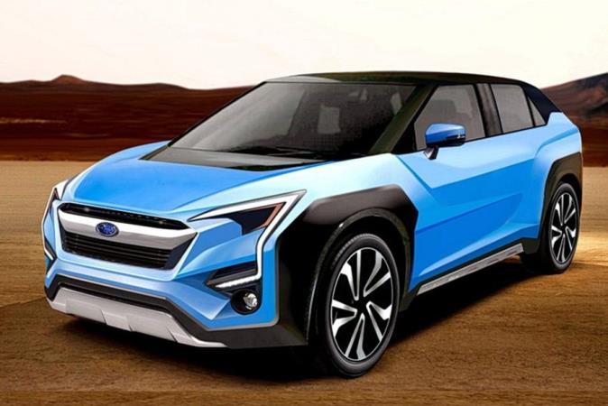 Subaru Evortis. неофициальный рендер