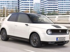Продажи электромобиля Honda e стартуют 30 октября