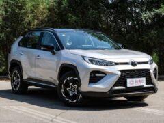 Toyota Wildlander обогнал по уровню продаж Kia Sportage