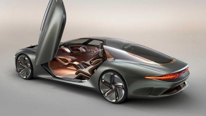 Bentley, инновационный электрокар