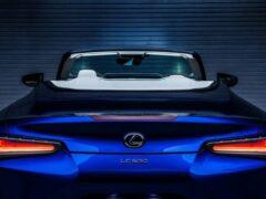 Компания Lexus опубликовала цены на купе LC500