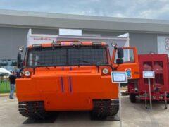 На выставке «Армия-2020» представили новый снегоболотоход