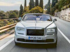 Rolls-Royce презентовал кабриолет Dawn в версии Silver Bullet