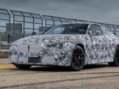 Опубликовали первые изображения новой BMW M4 G82
