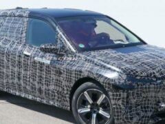 Новый электрический кроссовер BMW iNext вышел на тесты