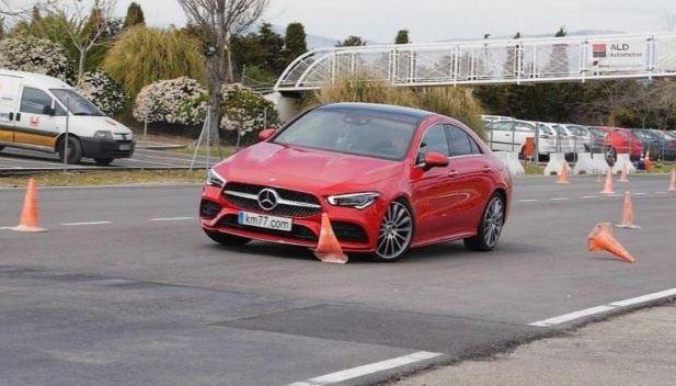 Mercedes-AMG A45 S, 2020 года, новый, лосиный тест