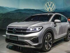 В Сети рассекретили самый большой кроссовер Volkswagen