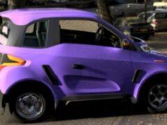 Новый российский электромобиль Zetta получил патент