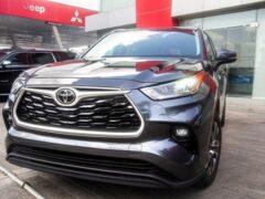 В России стартовали продажи нового Toyota Highlander