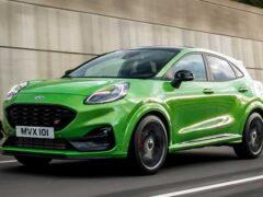 Ford представил «заряженный» кроссовер Puma ST