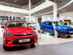 С начала года россияне купили в кредит более 42 тыс. машин KIA