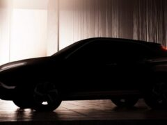 Mitsubishi опубликовала тизер рестайлингового Eclipse Cross