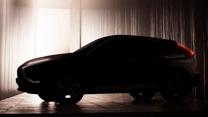 Mitsubishi Eclipse Cross, обновленный, тизер