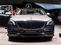 В Германии выставили на продажу Mercedes-Maybach S650 Cabrio